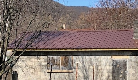 659 N 2nd Street, Lykens, pa new garage roof